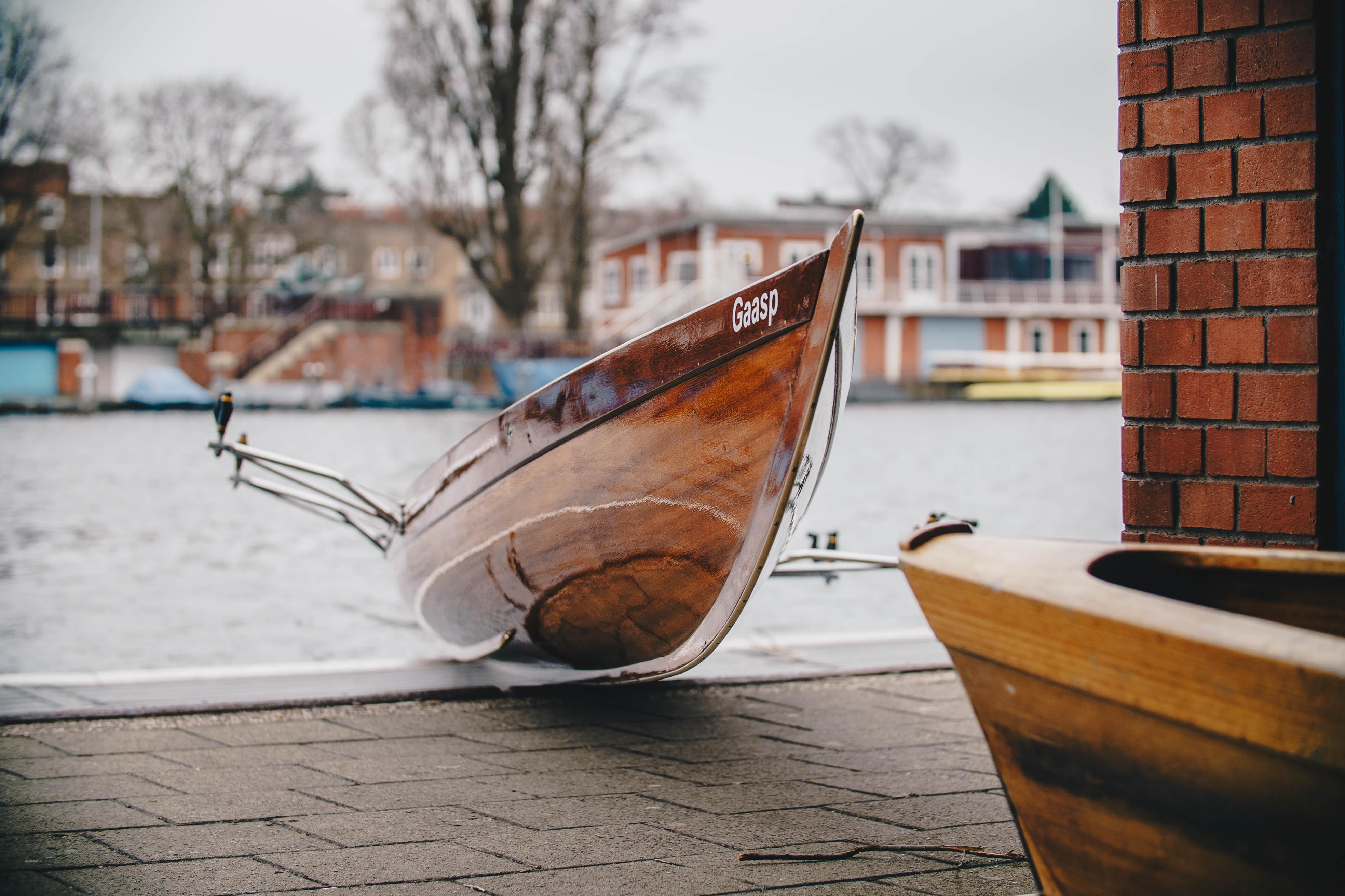 Nieuwe roeiboot