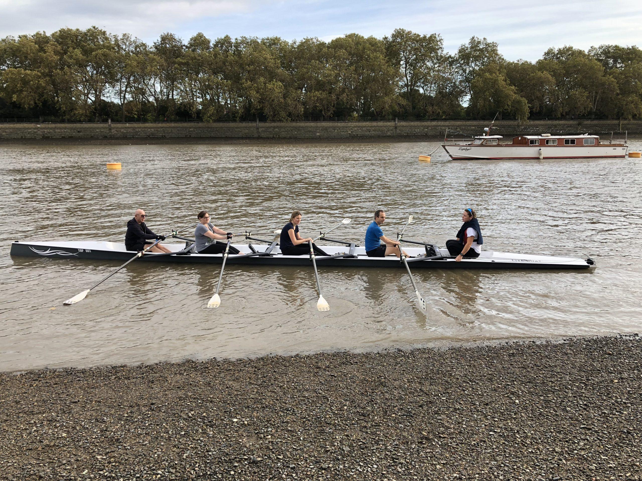 Row row row your boat in London!