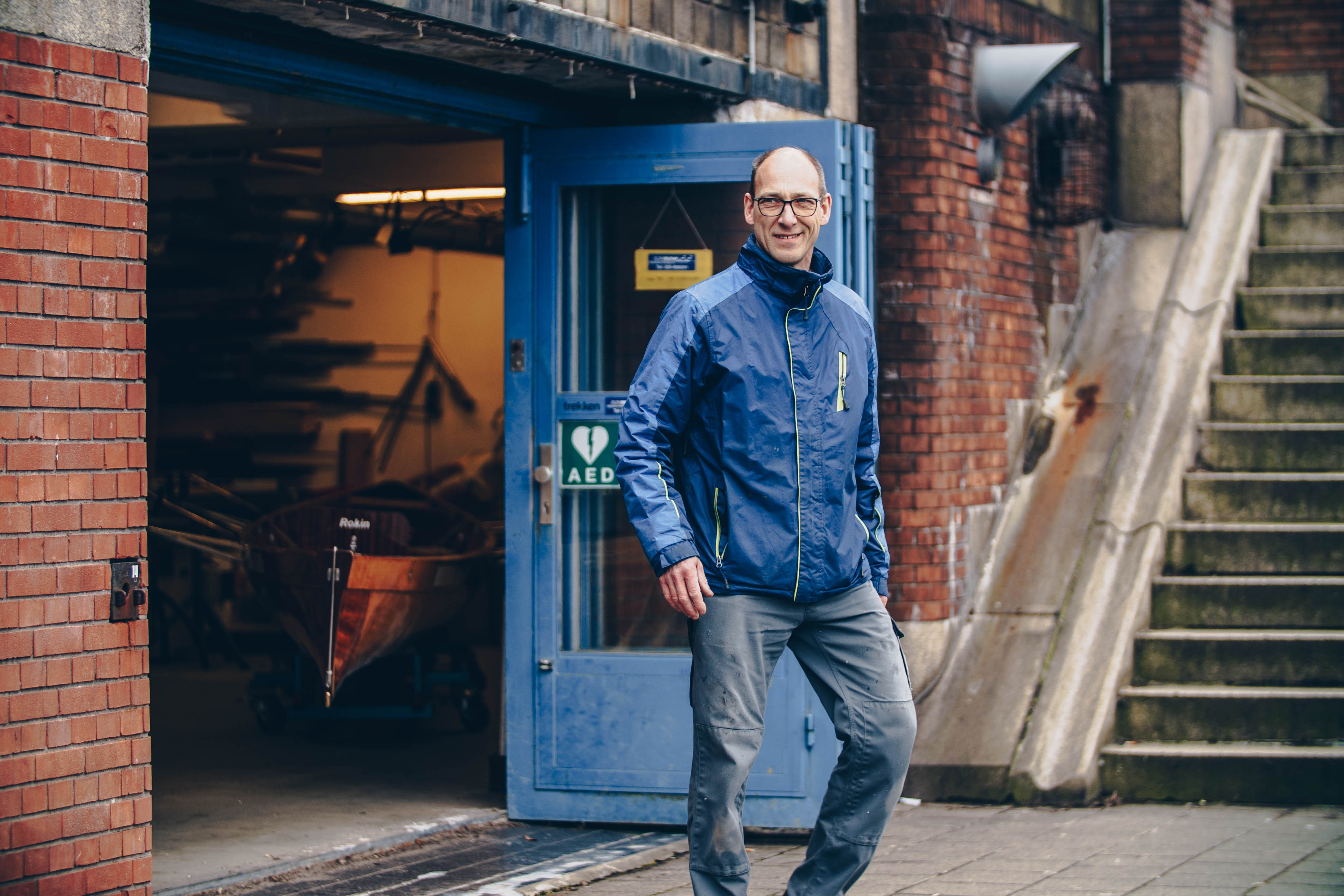Bootsman Coos de Wilde: 'Ik ga hier nooit meer weg'