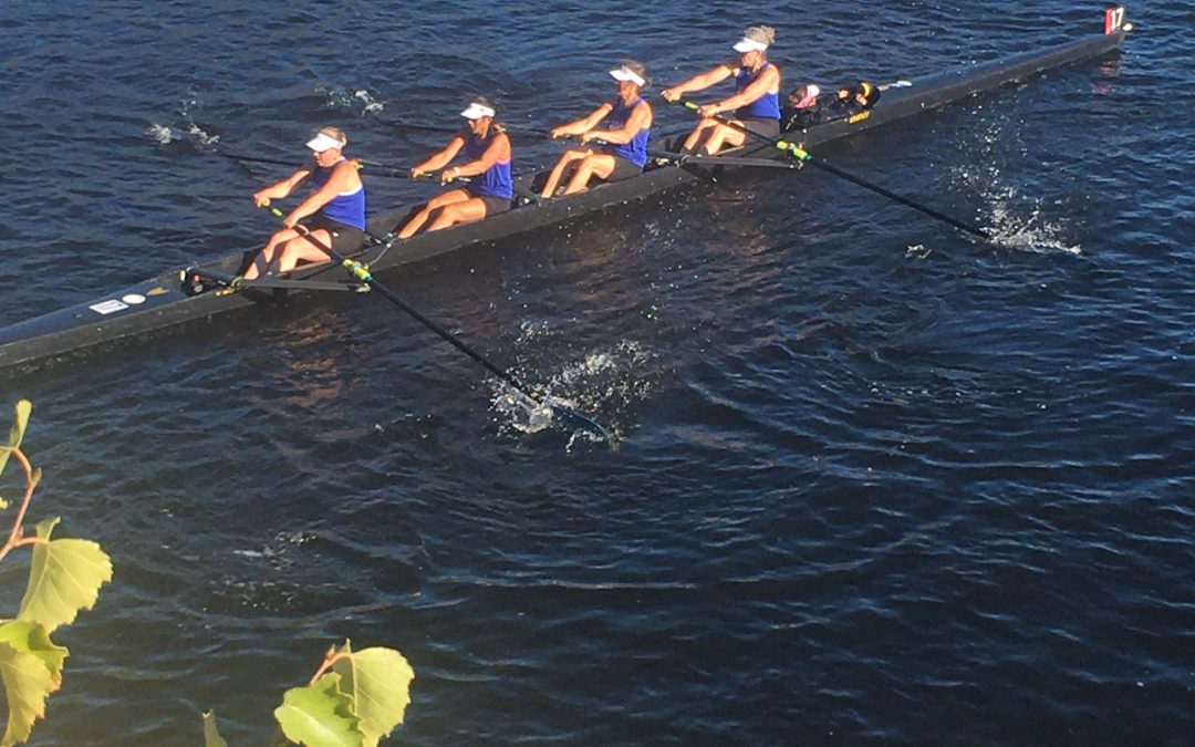 TopRow NYC's Debut on the Charles: In the Boat We Trust